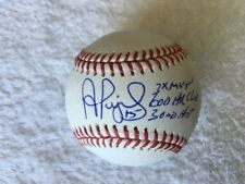 "Albert Pujols Signed Baseball inscription ""3 TIME MVP, 600 CLUB, 300 HIT"" RARE!!"