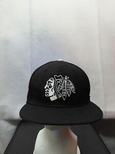 Chicago Blackhawks New Era 59fifty Black NHL 7 1/8