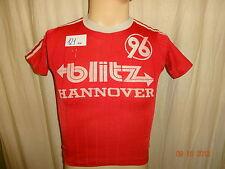 "Hannover 96 Adidas D-Junioren Matchworn Trikot 88/89 ""blitz Hannover"" + Nr.2"