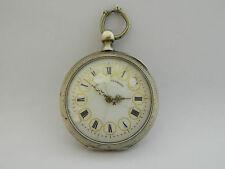 Antico orologio da tasca argento funziona  silver pocket watch working