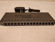 NETGEAR GS116E v2 ProSafe Plus - Managed Switch 16 Ports Gigabit-latest firmware