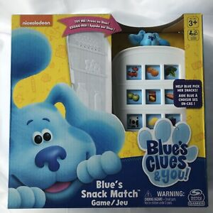 Blues Clues Snack Match Game Refrigerator Spin Nickelodeon 3+ NIB