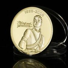 1pc Michael Jackson Gedenkmünzen-Heiß