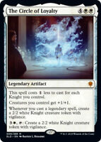The Circle of Loyalty x4 Magic the Gathering 4x Throne of Eldraine mtg card lot
