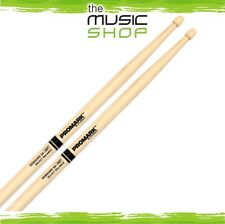 "Set of Promark Rebound Balance 5A .565"" Hickory Drumsticks with Acorn Wood Tips"