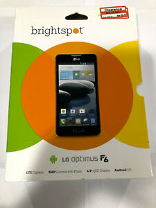 "New! Brightspot LGD500 optimus F6 5 mp camera with flash 4.5"" QHD display"