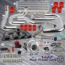 92-00 HONDA CIVIC TURBO BOLT-ON PIPING KIT 300+ BHP B-SERIES B16 B18 TYPE-RS BOV