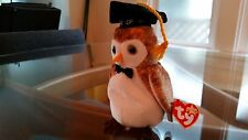 'Wisest' the Owl (Class of '00) - Ty Beanie Baby - MINT - RETIRED