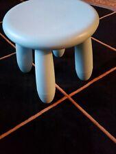IKEA Mammut Children's Stool Indoor/Outdoor LT. Blue Used
