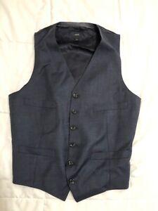 J.Crew Men's Size Small Dark Navy Suiting Vest