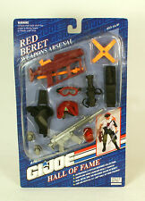 "GI JOE Hall Of fame Red Beret Weapons Arsenal 12""   HASBRO  G. I. Joe"