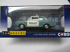 Ford Official Licensed 1.43 Ford Cortina MK2 1300 Manchester Police Corgi