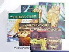 Instruction Gmt Explorer Yachtmaster ~English X6 Rolex Vintage Oyster Booklet w/