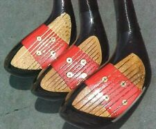 PERSIMMON Toney Penna Golf Clubs Refinished Wood Set Driver 3 5 w New Mint Grips