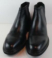 Donald J Pliner Mens ENRICO Black Ankle Boots MSRP $245 Size 10.5 M