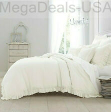 Wamsutta Vintage Ruffle Duvet Cover King in White D17