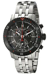 Tissot PRS 200 Black/ Red Face Mens Watch T067.417.21.051.00  T06741721005100