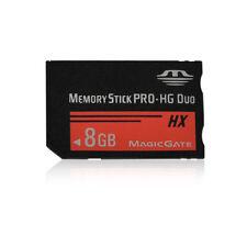 Hot 8GB MS Memory Stick PRO-HG Media MagicGate Card For PSP 1000 2000 Camera