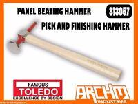 TOLEDO 313057 - PANEL BEATING HAMMER - PICK AND FINISHING HAMMER - 330MM 410G