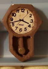 Vintage Miniature Dollhouse Wall Clocks