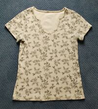 Women's Essentials By Maggie floral print top (M)