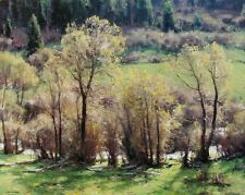 """Clyde Aspevig, """"Arrival of Spring"""", (1998), poster, Image 22'h x 28""""w"""