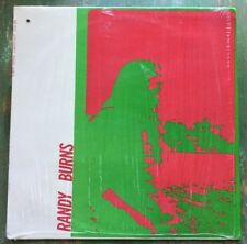 RANDY BURNS Song For An Uncertain Lady LP 1971 Psych Folk ESP Disk