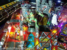 Medieval Madness Pinball Machine TROLL Mod  Lighted