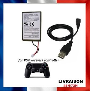 Batterie manette pour Sony PS4 2000mAh Battery Dual chock