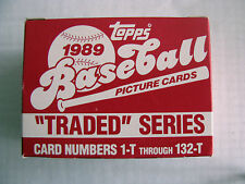 1989 TOPPS BASEBALL TRADED SERIES CARDS - KEN GRIFFEY JR. ROOKIE CARD