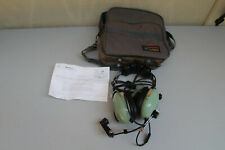David Clark H10-30 Aviation Headset with carrying case NICE SHAPE