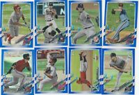 2021 TOPPS OPENING DAY BLUE FOIL PARALLEL OPENING DAY  U-PICK COMPLETE YOUR SET