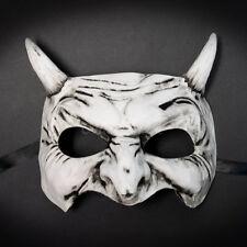 Masquerade Mask New 2017 Japanese Sketchy Demon Akuma Halloween Costume Unisex