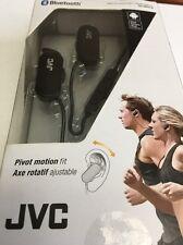 JVC Wireless Headphones HA-EBT5-B  iPhone 7, iPad iPod compatible New In Box