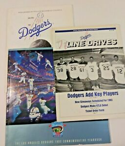 The Los Angeles Dodgers 1992 Commemorative Yearbook +2
