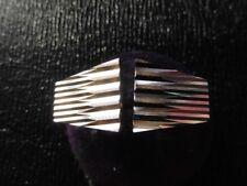 Cufflinks Vintage 1970 Coupe Diamond New