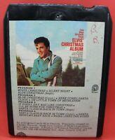Elvis Presley 8 Track tape - Elvis Christmas - 4 Program tape - see photos