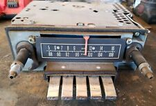 """1964 LINCOLN CONTINENTAL AM /FM RADIO """"SOLD AS IS """""""
