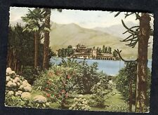Posted c1960s View of Isola Bella, Lake Maggiore
