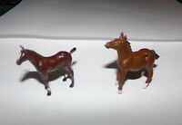 Vintage Britains Lead Farm/Zoo - Foal pair horse