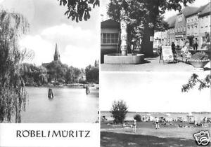AK, Röbel Müritz, drei Abb., 1974