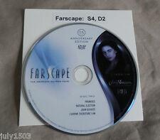 NEW Farscape Season 4 Disc 2 Replacement DVD, 15th Anniversary Edition free ship
