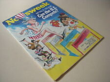 Newsweek Magazine, April 24, 1972, World Trade, Can the U.S. Compete, Vietnam!