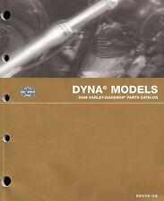 2006 HARLEY-DAVIDSON DYNA MODELS PARTS CATALOG MANUAL -FXD 35TH-FXDC-FXDL-FXDWG