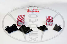 LEXUS LS460 2007 thru 2017 FRONT & REAR NEW OEM FACTORY TOYOTA BRAKE PAD SET