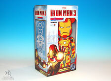 Marvel Medicom Iron Man Mark XLII Bearbrick 400% Figure Be@rbrick MK42 Brand New