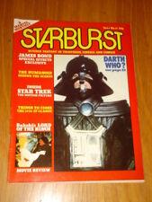 STARBURST #11 BRITISH SCI-FI MONTHLY MAGAZINE JULY 1979 DARTH VADER STAR WARS