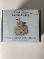 Williamsburg Reed And Barton Farmyard Friends Tooth Fairy And First Curl Box