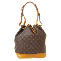 LOUIS VUITTON NOE DRAWSTRING SHOULDER BAG FH8911 PURSE MONOGRAM M42224 40547