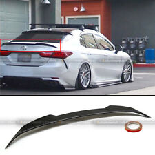 For 18 19 20 Toyota Camry Glossy Black JDM M4 Style Rear Trunk Lip Wing Spoiler